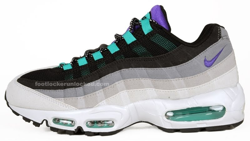 nike air max 95 black grape